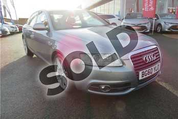 Audi A6 2.0 TDI 170 S Line Special Ed 4dr in Pearl - Daytona grey at Listers Toyota Grantham