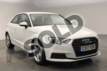 Audi A3 1.0 TFSI SE 3dr in Ibis White at Worcester Audi