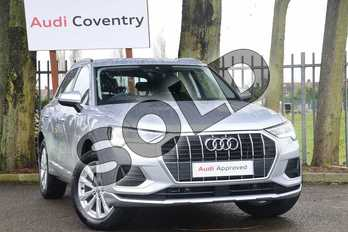 Audi Q3 35 TFSI Sport 5dr in Floret Silver Metallic at Coventry Audi