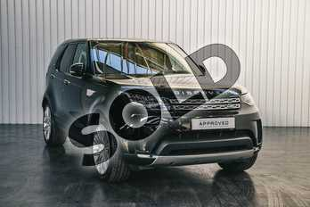 Land Rover Discovery 3.0 TD6 HSE Luxury 5dr Auto in Santorini Black at Listers Land Rover Solihull