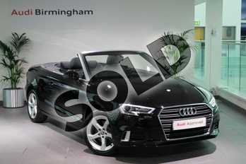 Audi A3 40 TFSI Sport 2dr S Tronic in Myth Black Metallic at Worcester Audi