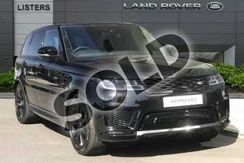 Range Rover Sport 2.0 P400e HSE 5dr Auto in Santorini Black at Listers Land Rover Droitwich