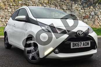 Toyota AYGO 1.0 VVT-i X-Clusiv 3 TSS 5dr in White at Listers Toyota Coventry