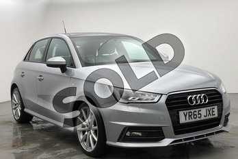 Audi A1 1.4 TFSI S Line 5dr in Floret Silver, metallic at Coventry Audi