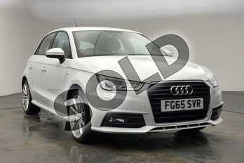 Audi A1 1.4 TFSI 150 S Line 5dr in Glacier White, metallic at Coventry Audi