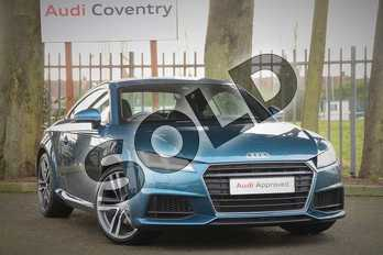 Audi TT 2.0T FSI S Line 2dr S Tronic in Audi exclusive customised paint finish at Coventry Audi