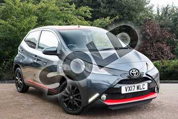 Toyota AYGO 1.0 VVT-i X-Press 5dr in Grey at Listers Toyota Stratford-upon-Avon