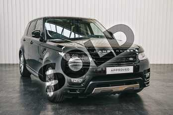 Range Rover Sport 5.0 V8 S/C Autobiography Dynamic 5dr Auto in Santorini Black at Listers Land Rover Solihull