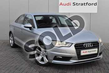 Audi A3 1.4 TFSI 150 Sport 4dr in Floret Silver, metallic at Stratford Audi
