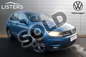 Volkswagen Tiguan 2.0 TDI 150 Match 5dr DSG in Caribbean Blue at Listers Volkswagen Coventry