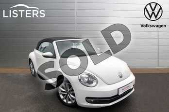 Volkswagen Beetle 2.0 TDI 150 Design 2dr in Pure White at Listers Volkswagen Worcester