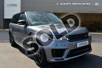 Range Rover Sport 2.0 P400e HSE Dynamic 5dr Auto in Eiger Grey at Listers Land Rover Hereford