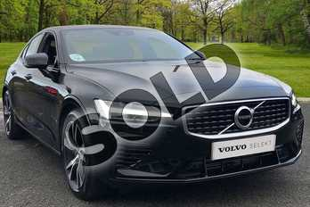 Volvo S60 2.0 T8 Hybrid R DESIGN Plus 4dr AWD Auto in Onyx Black at Listers Volvo Worcester