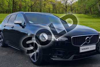 Volvo V90 2.0 D4 R DESIGN 5dr Geartronic in Onyx Black at Listers Volvo Worcester