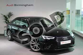 Audi A4 35 TFSI Black Edition 4dr S Tronic in Brilliant Black at Birmingham Audi