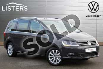 Volkswagen Sharan 2.0 TDI CR BlueMotion Tech 150 SEL 5dr DSG in Urano Grey at Listers Volkswagen Nuneaton