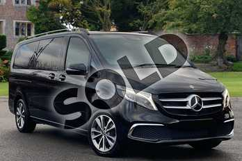 Mercedes-Benz V Class V220 d Sport 5dr 9G-Tronic (Extra Long) in obsidian black metallic at Mercedes-Benz of Lincoln