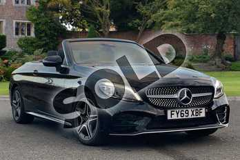 Mercedes-Benz C Class C220d AMG Line Premium 2dr 9G-Tronic in obsidian black metallic at Mercedes-Benz of Lincoln
