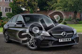 Mercedes-Benz C Class C220d AMG Line Premium 4dr 9G-Tronic in obsidian black metallic at Mercedes-Benz of Lincoln
