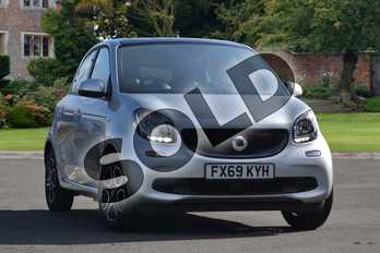 Smart Forfour 60kW EQ Prime Premium 5dr Auto 17kWh in cool silver metallic at smart at Mercedes-Benz of Lincoln