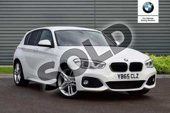 BMW 1 Series 120d xDrive M Sport 5dr Step Auto in Alpine White at Listers Boston (BMW)