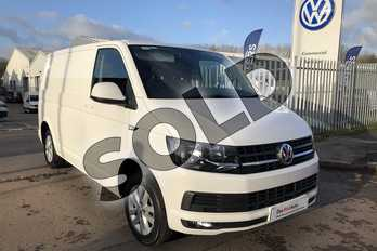Volkswagen Transporter 2.0 TDI BMT 102 Highline Van Euro 6 in Candy White at Listers Volkswagen Van Centre Worcestershire