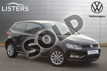 Volkswagen Polo 1.0 75 Match 3dr in Deep Black at Listers Volkswagen Nuneaton