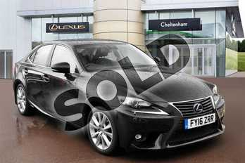 Lexus IS 300h Advance 4dr CVT Auto in Celestial Black at Lexus Cheltenham