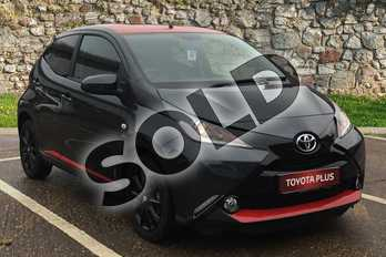 Toyota AYGO 1.0 VVT-i X-Press 5dr x-shift in Electro Grey at Listers Toyota Boston