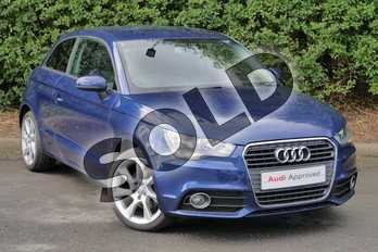 Audi A1 1.4 TFSI Sport 3dr in Scuba Blue, metallic at Worcester Audi