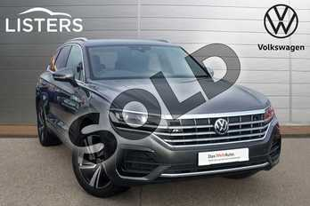 Volkswagen Touareg 3.0 V6 TDI 4Motion R Line Tech 5dr Tip Auto in Silicon Grey at Listers Volkswagen Loughborough