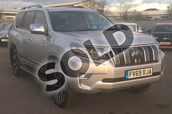 Toyota Land Cruiser Diesel SW 2.8 D-4D Invincible 5dr Auto 7 Seats in Tyrol Silver at Listers Toyota Lincoln