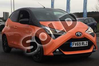 Toyota AYGO 1.0 VVT-i X-Cite 5 5dr in Mandarin Pop at Listers Toyota Lincoln