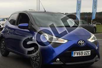 Toyota AYGO 1.0 VVT-i X-Clusiv 5dr in Blue Burst at Listers Toyota Lincoln