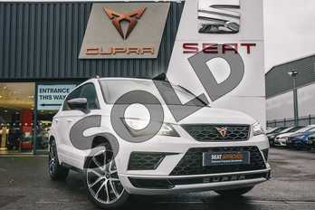 CUPRA Ateca 2.0 TSI 5dr DSG 4Drive in Nevada White at Listers SEAT Coventry