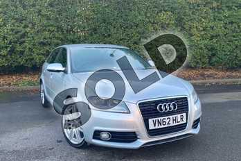 Audi A3 Diesel 2.0 TDI S Line 5dr (Start Stop) in Ice Silver, metallic at Worcester Audi
