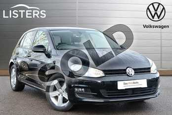 Volkswagen Golf 1.4 TSI Match 5dr in Deep Black at Listers Volkswagen Leamington Spa
