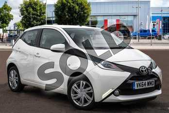 Toyota AYGO 1.0 VVT-i X-Pression 5dr in White Flash at Listers Toyota Cheltenham