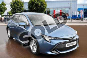 Toyota Corolla 1.2T VVT-i Icon Tech 5dr in Denim Blue at Listers Toyota Cheltenham