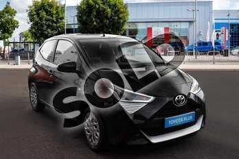 Toyota AYGO 1.0 VVT-i X-Play 5dr in Black at Listers Toyota Cheltenham