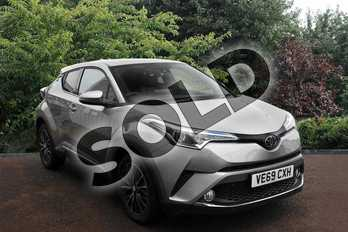 Toyota C-HR 1.2T Excel 5dr (Leather) in Silver at Listers Toyota Stratford-upon-Avon