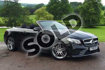 Mercedes-Benz E Class E220d AMG Line 2dr 9G-Tronic in obsidian black metallic at Mercedes-Benz of Grimsby