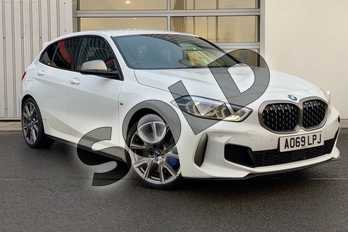 BMW 1 Series M135i xDrive 5dr Step Auto in Alpine White at Listers King's Lynn (BMW)