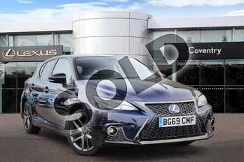 Lexus CT 200h 1.8 F-Sport 5dr CVT in Deep Blue at Lexus Coventry