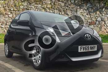 Toyota AYGO 1.0 VVT-i X-Play 5dr in Bold Black at Listers Toyota Boston