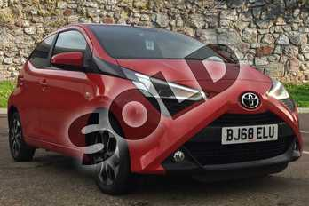 Toyota AYGO 1.0 VVT-i X-Plore 5dr in Chilli Red at Listers Toyota Boston