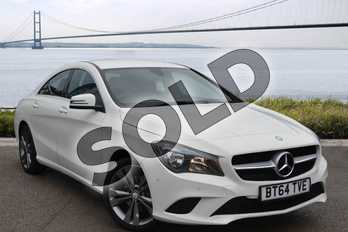 Mercedes-Benz CLA Class CLA 200 (2.1) CDI AMG Sport 4dr Tip Auto in Cirrus white at Mercedes-Benz of Hull