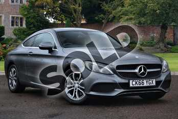 Mercedes-Benz C Class Diesel C220d Sport 2dr Auto in Selenite Grey Metallic at Mercedes-Benz of Lincoln