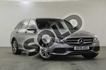 Mercedes-Benz C Class C220 BlueTEC Sport Premium 5dr Auto in Palladium Silver Metallic at Mercedes-Benz of Lincoln