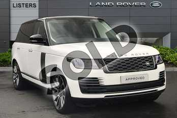 Range Rover Diesel 3.0 TDV6 Autobiography 4dr Auto in Fuji White at Listers Land Rover Droitwich